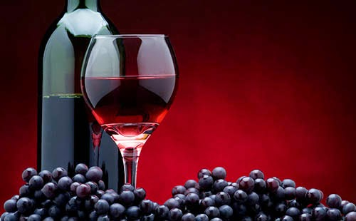 wine contains antioxidants
